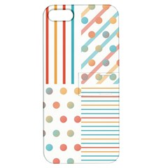 Simple Saturated Pattern Apple Iphone 5 Hardshell Case With Stand by linceazul