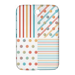 Simple Saturated Pattern Samsung Galaxy Note 8 0 N5100 Hardshell Case  by linceazul