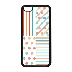 Simple Saturated Pattern Apple Iphone 5c Seamless Case (black) by linceazul