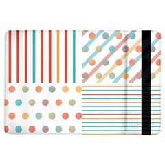 Simple Saturated Pattern Ipad Air Flip by linceazul