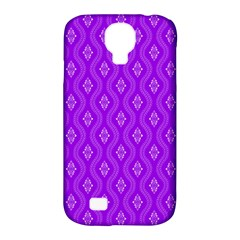 Decorative Seamless Pattern  Samsung Galaxy S4 Classic Hardshell Case (pc+silicone) by TastefulDesigns