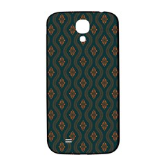 Ornamental Pattern Background Samsung Galaxy S4 I9500/i9505  Hardshell Back Case by TastefulDesigns