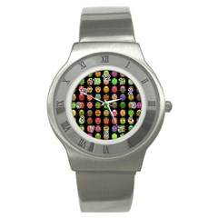 Beetles Insects Bugs Stainless Steel Watch by BangZart