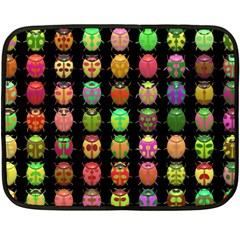Beetles Insects Bugs Double Sided Fleece Blanket (mini)  by BangZart