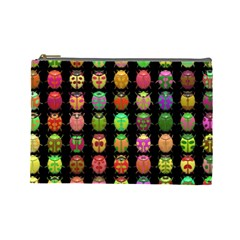 Beetles Insects Bugs Cosmetic Bag (large)  by BangZart