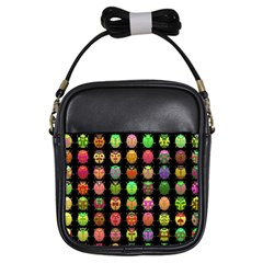 Beetles Insects Bugs Girls Sling Bags by BangZart