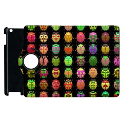 Beetles Insects Bugs Apple Ipad 2 Flip 360 Case by BangZart