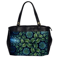 Blue Lotus Office Handbags by BangZart