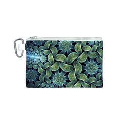Blue Lotus Canvas Cosmetic Bag (s) by BangZart