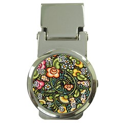 Bohemia Floral Pattern Money Clip Watches by BangZart