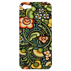 Bohemia Floral Pattern Apple Iphone 5 Hardshell Case by BangZart