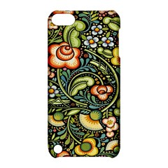 Bohemia Floral Pattern Apple Ipod Touch 5 Hardshell Case With Stand by BangZart