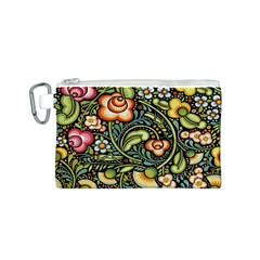 Bohemia Floral Pattern Canvas Cosmetic Bag (s) by BangZart