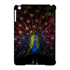 Beautiful Peacock Feather Apple Ipad Mini Hardshell Case (compatible With Smart Cover) by BangZart