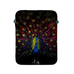 Beautiful Peacock Feather Apple Ipad 2/3/4 Protective Soft Cases by BangZart