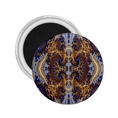 Baroque Fractal Pattern 2 25  Magnets by BangZart
