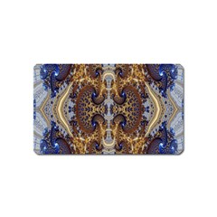 Baroque Fractal Pattern Magnet (name Card) by BangZart