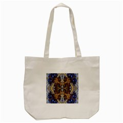 Baroque Fractal Pattern Tote Bag (cream) by BangZart