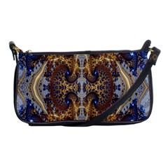 Baroque Fractal Pattern Shoulder Clutch Bags by BangZart
