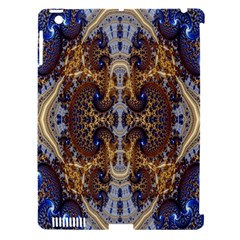 Baroque Fractal Pattern Apple Ipad 3/4 Hardshell Case (compatible With Smart Cover) by BangZart