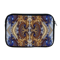 Baroque Fractal Pattern Apple Macbook Pro 17  Zipper Case by BangZart