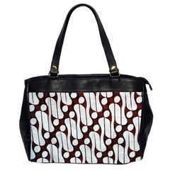 Batik Art Patterns Office Handbags (2 Sides)  by BangZart