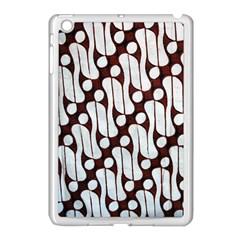Batik Art Patterns Apple Ipad Mini Case (white) by BangZart