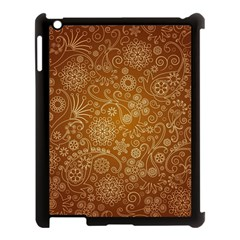 Batik Art Pattern Apple Ipad 3/4 Case (black) by BangZart