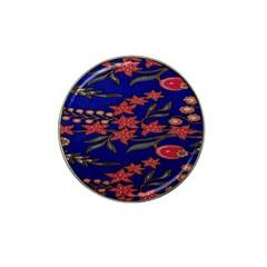 Batik  Fabric Hat Clip Ball Marker (4 Pack) by BangZart