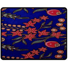 Batik  Fabric Double Sided Fleece Blanket (medium)  by BangZart