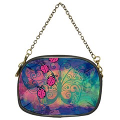 Background Colorful Bugs Chain Purses (two Sides)  by BangZart