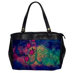 Background Colorful Bugs Office Handbags by BangZart
