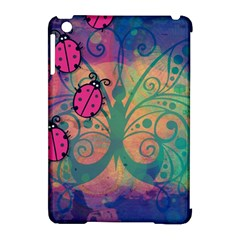 Background Colorful Bugs Apple Ipad Mini Hardshell Case (compatible With Smart Cover) by BangZart