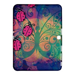 Background Colorful Bugs Samsung Galaxy Tab 4 (10 1 ) Hardshell Case  by BangZart