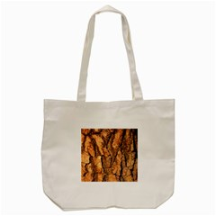 Bark Texture Wood Large Rough Red Wood Outside California Tote Bag (cream) by BangZart