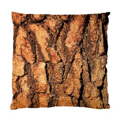 Bark Texture Wood Large Rough Red Wood Outside California Standard Cushion Case (one Side) by BangZart