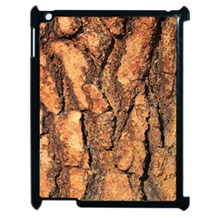 Bark Texture Wood Large Rough Red Wood Outside California Apple Ipad 2 Case (black) by BangZart