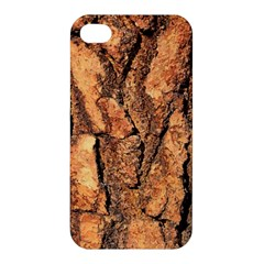 Bark Texture Wood Large Rough Red Wood Outside California Apple Iphone 4/4s Hardshell Case