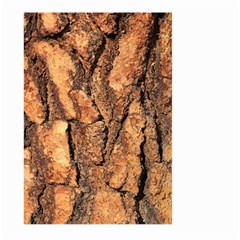 Bark Texture Wood Large Rough Red Wood Outside California Large Garden Flag (two Sides) by BangZart