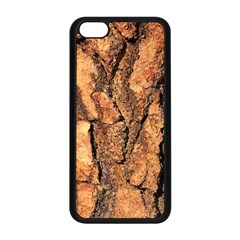 Bark Texture Wood Large Rough Red Wood Outside California Apple Iphone 5c Seamless Case (black) by BangZart