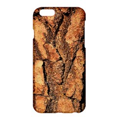 Bark Texture Wood Large Rough Red Wood Outside California Apple Iphone 6 Plus/6s Plus Hardshell Case by BangZart