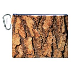 Bark Texture Wood Large Rough Red Wood Outside California Canvas Cosmetic Bag (xxl) by BangZart