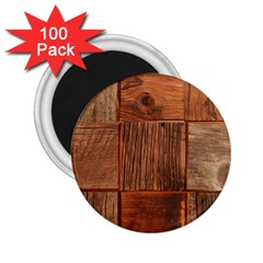Barnwood Unfinished 2 25  Magnets (100 Pack)  by BangZart