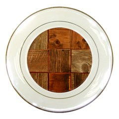 Barnwood Unfinished Porcelain Plates by BangZart
