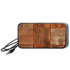 Barnwood Unfinished Portable Speaker (black) by BangZart