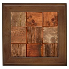 Barnwood Unfinished Framed Tiles by BangZart