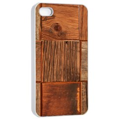 Barnwood Unfinished Apple Iphone 4/4s Seamless Case (white) by BangZart