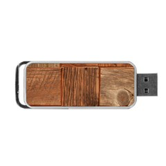 Barnwood Unfinished Portable Usb Flash (two Sides) by BangZart
