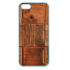 Barnwood Unfinished Apple Seamless Iphone 5 Case (color) by BangZart