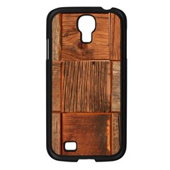 Barnwood Unfinished Samsung Galaxy S4 I9500/ I9505 Case (black) by BangZart